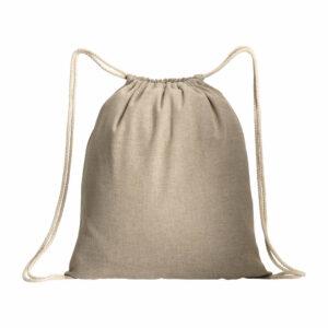 Baumwollrucksack beige