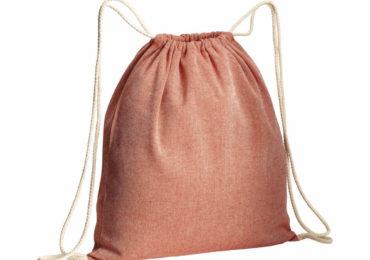 Top Trendy | Baumwollrucksack Melange aus recycelter Baumwolle