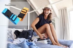 Premmiumtex Koffergurte mit eigenem Logo als Werbeartikel