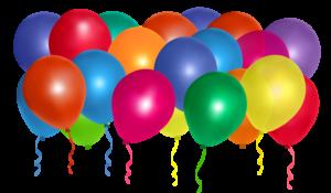 Bedruckte Luftballons aus Naturkautschuk anstatt Plastik