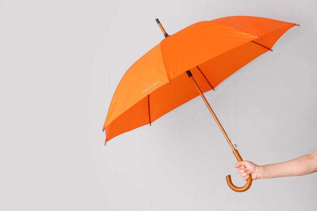Regenschirme mit eigenem Logo