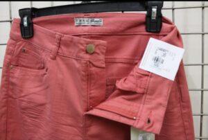 Ladies Spandex Skinny Twill Long Pant